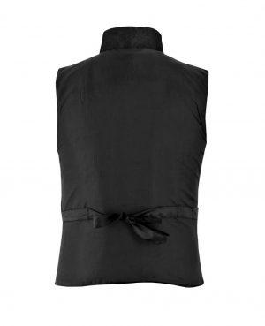 DARKROCK Waistcoat Black Vest GothicWestern-Reenactment (back)
