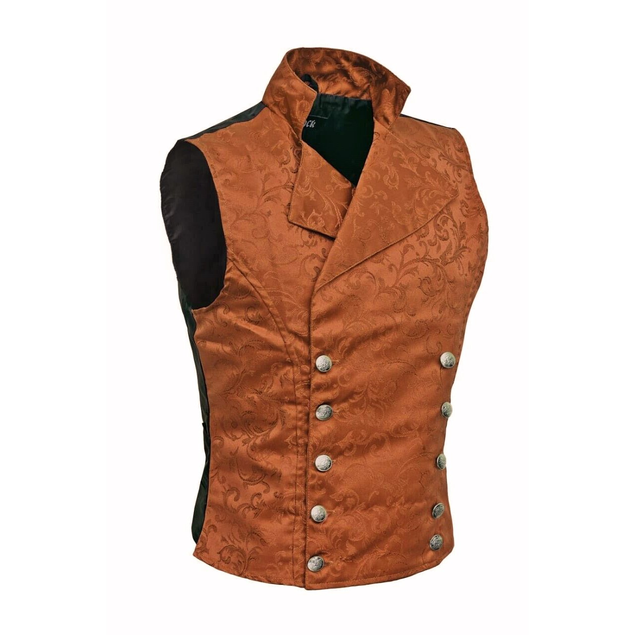 SCARLET DARKNESS Womens Victorian Waistcoat Double-Breasted Casual Dressy Vests