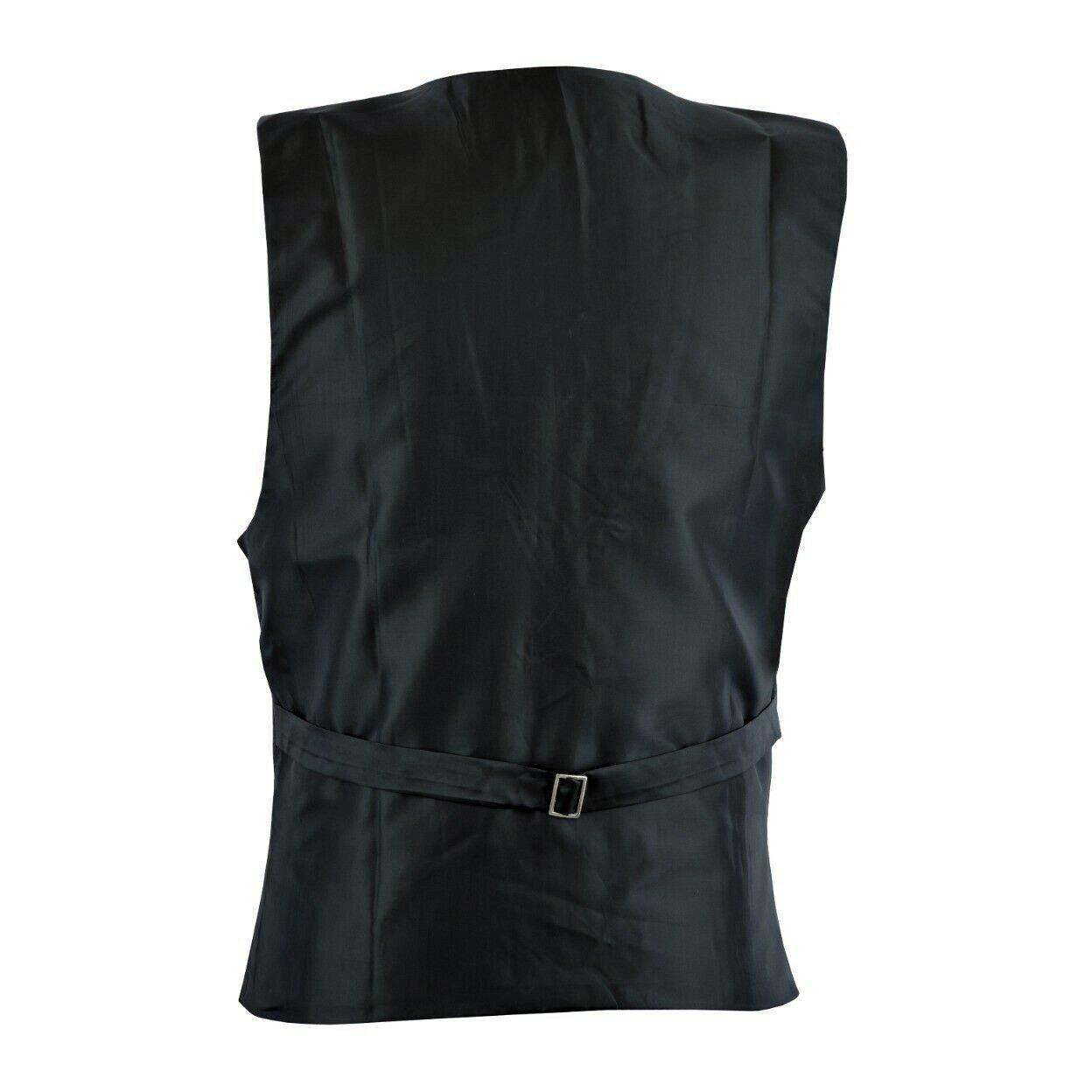 DARKROCK Victorian Single Breasted Brocade Vest Regency Waistcoat (1)