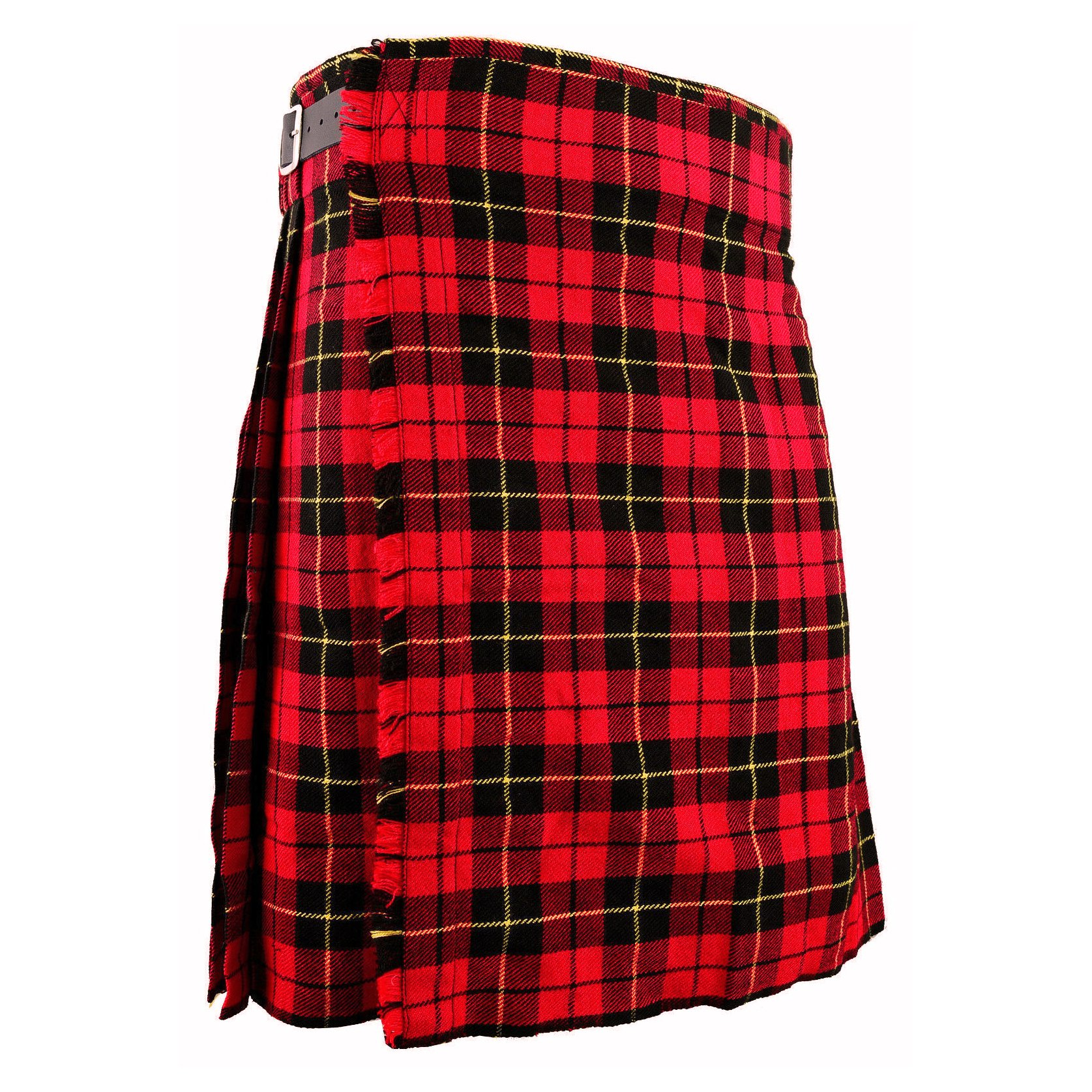 Men's 6 Yard's Wallace Scottish Traditional Kilt Tartan Highland Kilt (1)