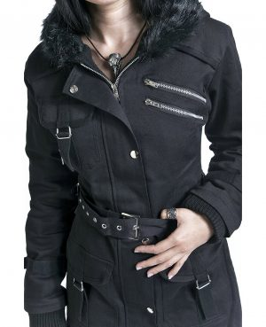 Handmade Women's coat Jacket Winter Jacket With Multi Pocket Jacket (3)