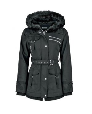Handmade Women's coat Jacket Winter Jacket With Multi Pocket Jacket (4)