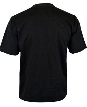 Men's Gothic Goth Rock Metal Black T-Shirt (2)