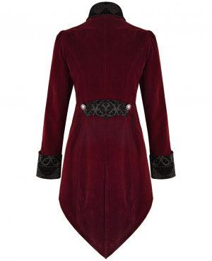 Women's Steampunk Swallow Tail Coat (2)