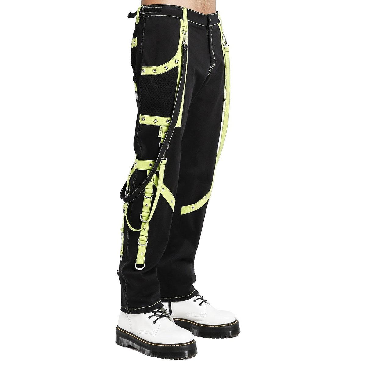 Men's Gothic Bondage Pant Rock Hard Trouser Heavy Weight Pant EMO/TRIPP PANTS