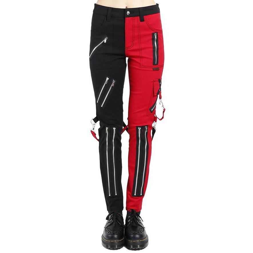 Ladies Split Leg Bondage Pants