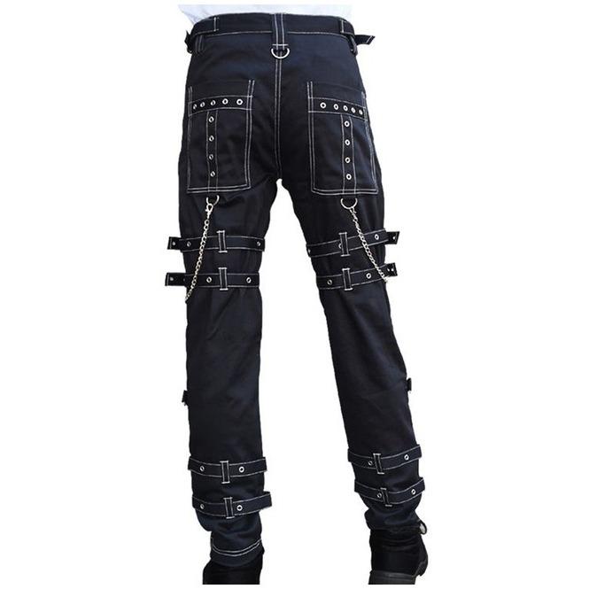 Men,s Gothic Bondage Raider Tripp Pant Rock Hard Trouser Heavy Weight EMO/PANTS