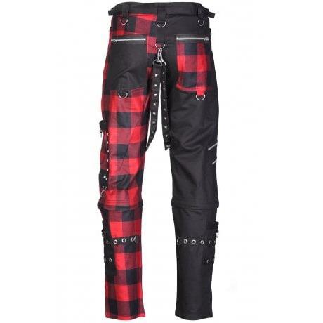 Men,s Gothic Bondage Black Tripp Pant Rock Hard Trouser Heavy Weight EMO/PANTS