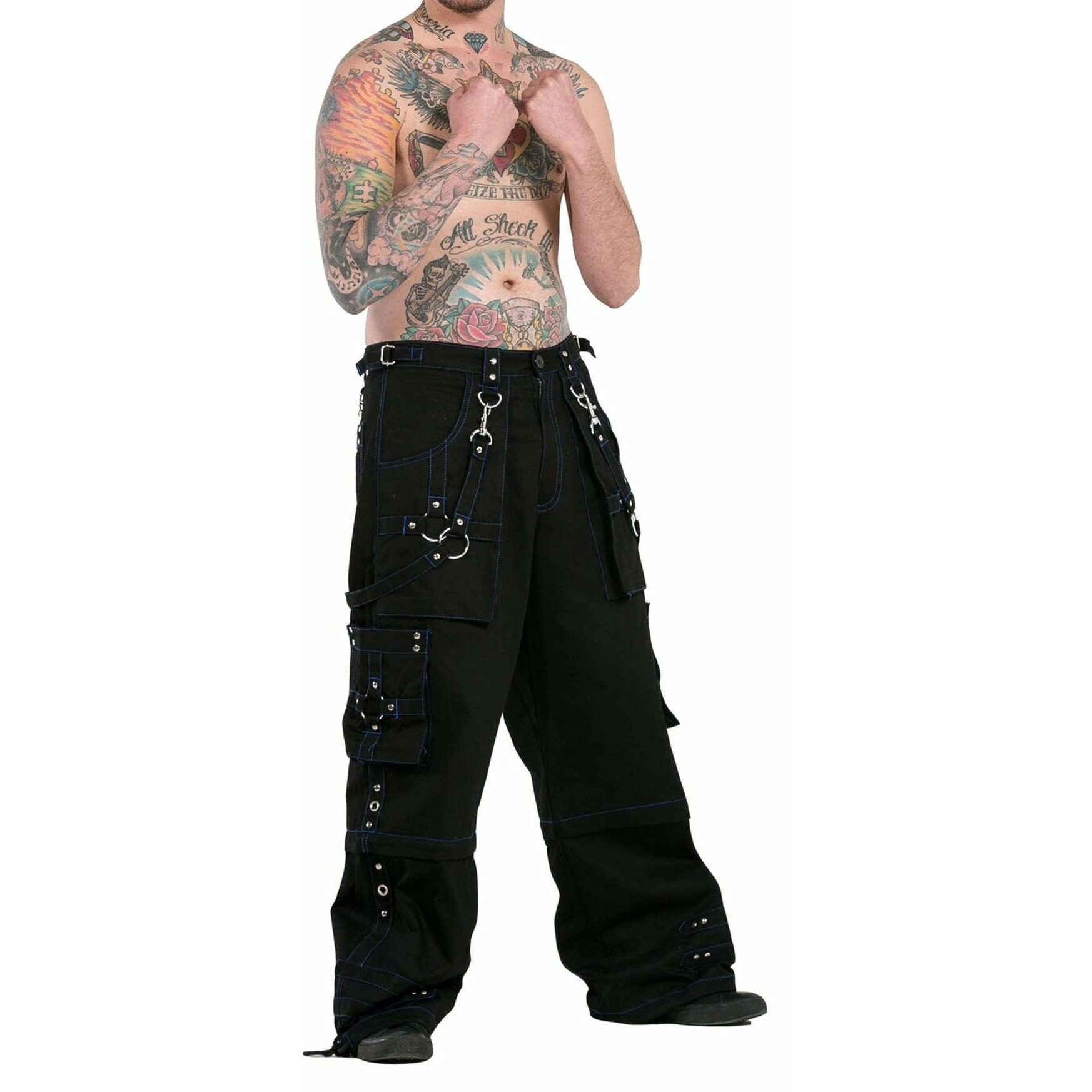 Men Bondage Trouser Gothic Transformer Baggy Pants Trouser EMO /TRIPP PANTS/USA
