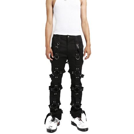 Gothic Men,s Tripp Harness Pants Black